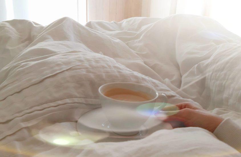Kawa W łóżku Dziennik Optymisty